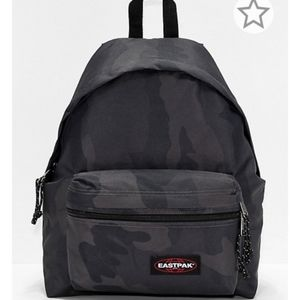 Eastpak Black Camo Padded Laptop Backpack